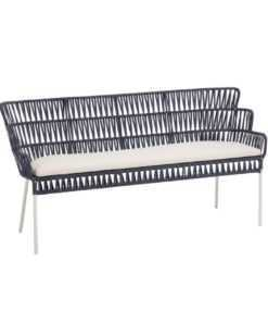 Kave Home - Bank Robyn blauw 160 cm